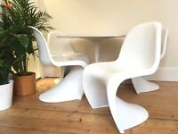 Four Verner Panton S Chairs For Vitra Mid Century Modern