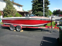 1990 supra sunsport 21 bowrider ski/wake $8900