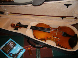 Intermediate Violin Outfit - 4/4 & 3/4 Sizes in New Condition