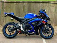 SUZUKI GSXR 600 2007 (07) ISLE OF MAN NO 091/150 + SUPER SPORT