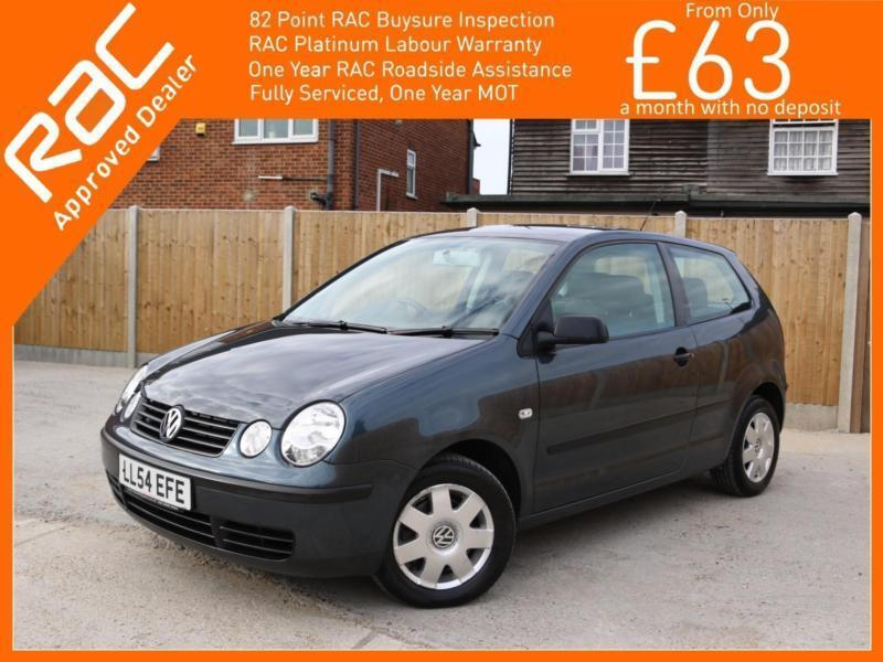 2005 Volkswagen Polo 1.4 Twist 3 Door Auto Air Conditioning Alloys Only 62,000 M