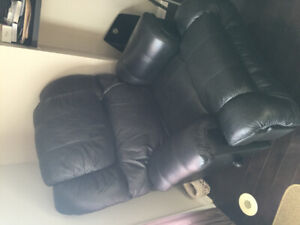 Leather lazy boy recliner chairs