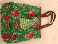 Colourful Flowery Large Bag