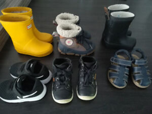 Bottes et chaussures pour enfant
