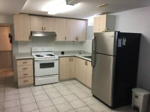2 Bed rooms bright, excellent basement with separate entrance
