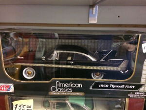 1959 plymouth fury 1/18 scale diecast