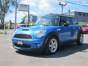 2008 MINI COOPER S S AUTOMATIC~SUNROOF~LEATHER~WARRANTY AVAILABL
