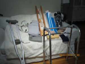 Having a knee replaced? I have equipment