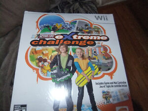 Wii Active LIfe Extreme Challenge Brand New Sealed Box