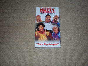 NUTTY PROFESSOR 2, THE KLUMPS, VHS MOVIE, EXCELLENT CONDITION