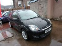 FORD FIESTA 1.4 zetec climate 2007 Petrol Manual in Black