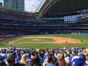 Blue Jays vs Tigers Canada Day Tickets - Great Lowers Sec 117R