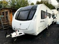 Sterling Eccles Ruby SE - Luxurious 4 Berth Caravan - by Swift Special Edition