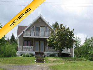 Chalet Style Home on 5 Acres Great Hunting/Fishing