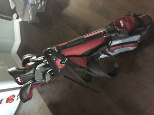 Full lefty golf club set plus extra driver