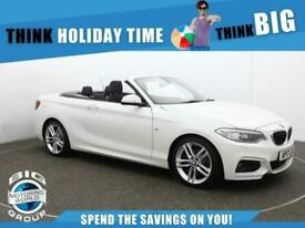 image for 2017 BMW 2 Series 220D M SPORT Convertible Diesel Manual