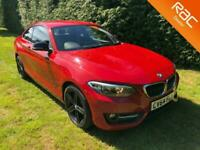2014 BMW 2 Series 220d SPORT With Full Service History Coupe Diesel Manual