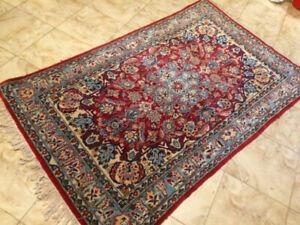 Persian Wool Rug  - Handmade -  175cm / 108cm