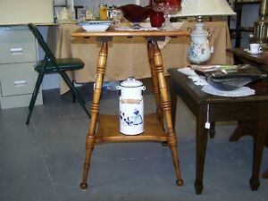 GREG'S ANTIQUES and COLLECTABLES - PARLOUR TABLE