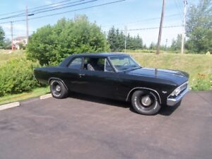 1966 big block chevelle,  willing to take part trade