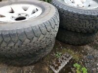 "All terrain tyres 16"""