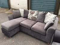 Grey corner chaise sofa can deliver