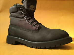 Timberland Boots-Black-Boys size 5.5 $50 OBO