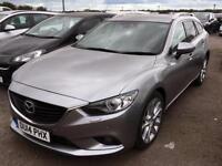 2014 MAZDA 6 2.2d [175] Sport Nav 5dr Auto Estate