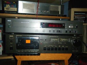 NAD 5325 CD Player and NAD Casette Player  Combo