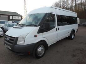 2010 FORD TRANSIT 430 115 6-SPEED 17 SEAT MINIBUS ELECTRONIC TACHO MINIBUS DIESE