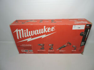Milwukee M18  Cordless Combo Tool Kit (4-Tool) New in box