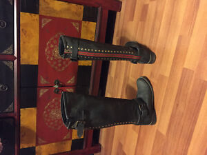 Genuine leather Steve Madden boots