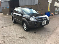2006 Hyundai Tucson 2.0CRTD 4WD GSI ONLY 94000 MILES WITH FULL SERVICE HISTORY