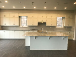 Brand new solid wood kitchen