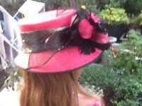 Pink Jacques Vert hat