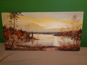 Original Oil Painting by Native Oakville Artist~