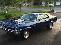 Chevrolet nova ss (clone) 1970