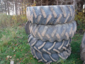 FOUR 16.9X30 SKIDDER TIRES