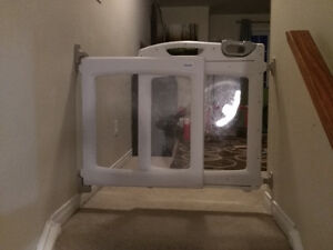 First years top of stairs baby gate