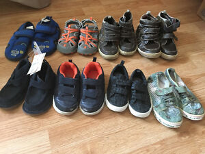 Boy shoes lot size 6 to size 10