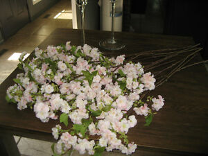 """WEDDING DECOR"" 38"" TALL LIGHT PINK CHERRY BLOSSOM STEMS"