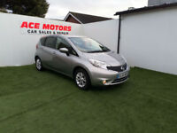 2014 64 NISSAN NOTE 1.5 DCi ACENTA 5 DOOR,ONLY 17000 MILES 1 OWNER WITH FSH