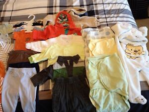 Newborn to 3 Month Clothes for Boy