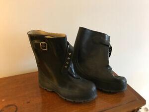 Botte recouvre chaussure ou shoe claque grandeur 8
