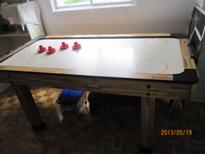 Table de air hockey - air hockey table