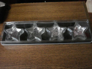 Votive Star Shaped Candle Holders