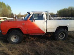 Dodge W100 Mud Racing Truck