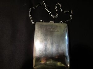 SAART STERLING SILVER CIGARETTE CASE Peterborough Peterborough Area image 1