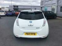 2017 Nissan Leaf Black Edition 30kWh 5dr Auto Hatchback Electric Automatic