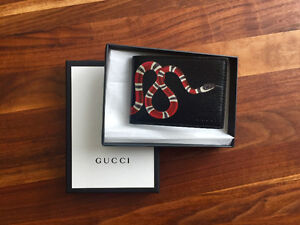 Brand New Gucci Men's Leather Wallet
